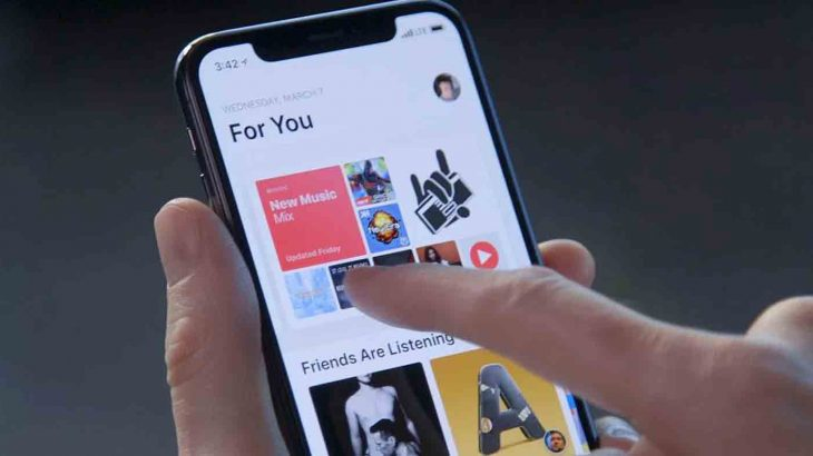 امسح محفوظات Apple Music