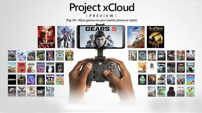 مشروع لعبة xCloud المتدفقة