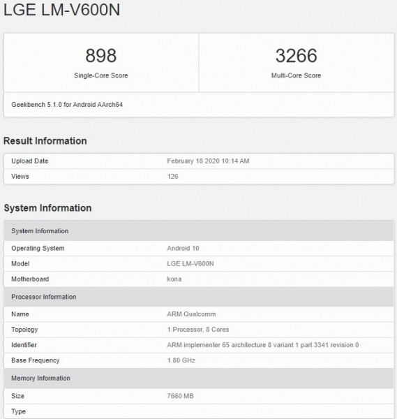 LG V60 5G