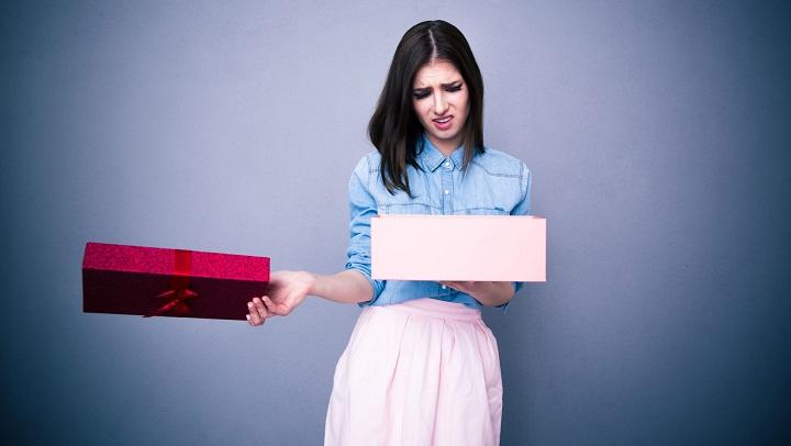 عندما تقدم لنفسك هدية ، فالخيار لك.