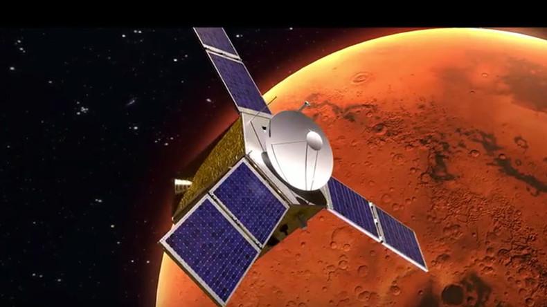 أمل المسبار أول بعثة عربية لاستكشاف الفضاء