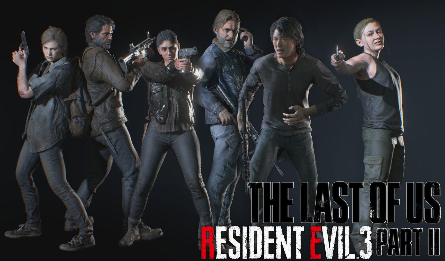 قائمة شخصيات الآس في Resident Evil 3