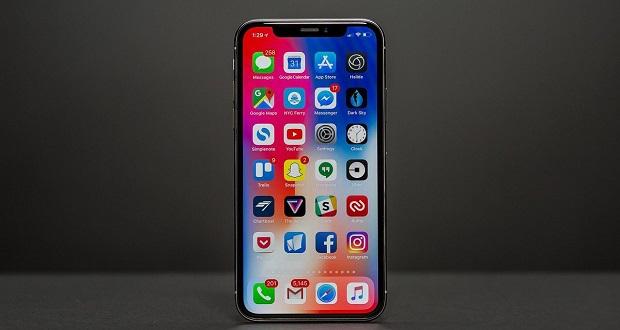 هاتف iPhone X.