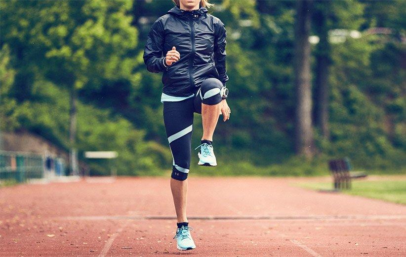 قم بالإحماء قبل التمرين