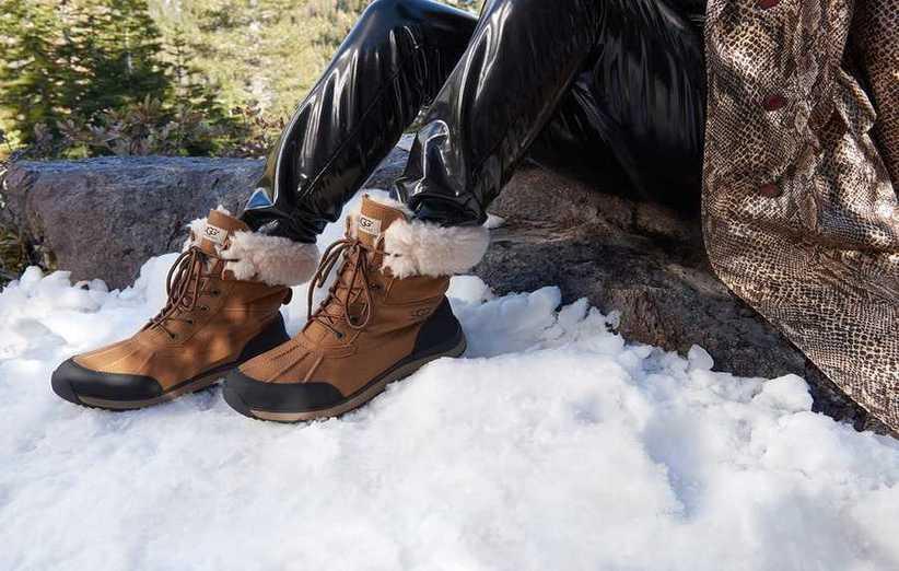 بقدر الإمكان ، لا تشتري أحذية الشتاء النسائية ذات الفراء