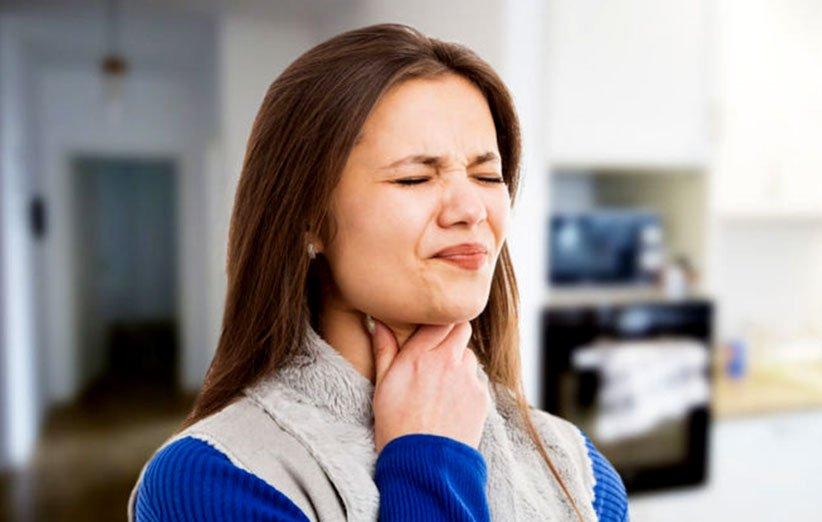 العلاج الطبيعي لالتهاب الحلق