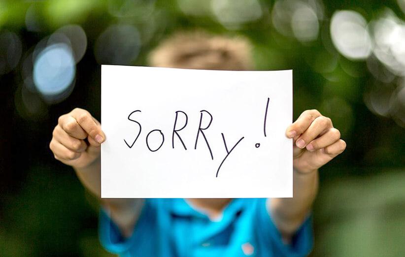 نعتذر عن كل شيء