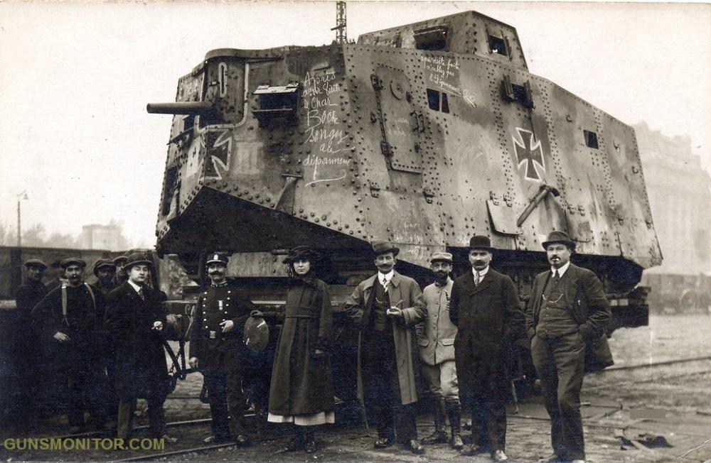 1609731835 105 الدبابة الألمانية الوحيدة في الحرب العالمية الأولى أكو وب