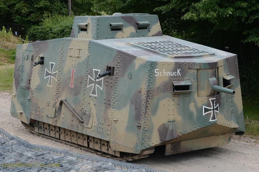 1609731835 155 الدبابة الألمانية الوحيدة في الحرب العالمية الأولى أكو وب