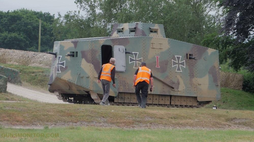 1609731835 187 الدبابة الألمانية الوحيدة في الحرب العالمية الأولى أكو وب