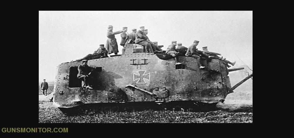 1609731835 396 الدبابة الألمانية الوحيدة في الحرب العالمية الأولى أكو وب