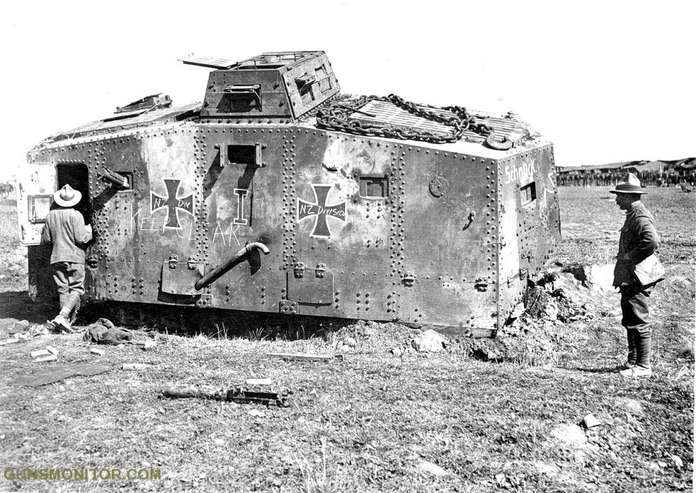 1609731835 772 الدبابة الألمانية الوحيدة في الحرب العالمية الأولى أكو وب
