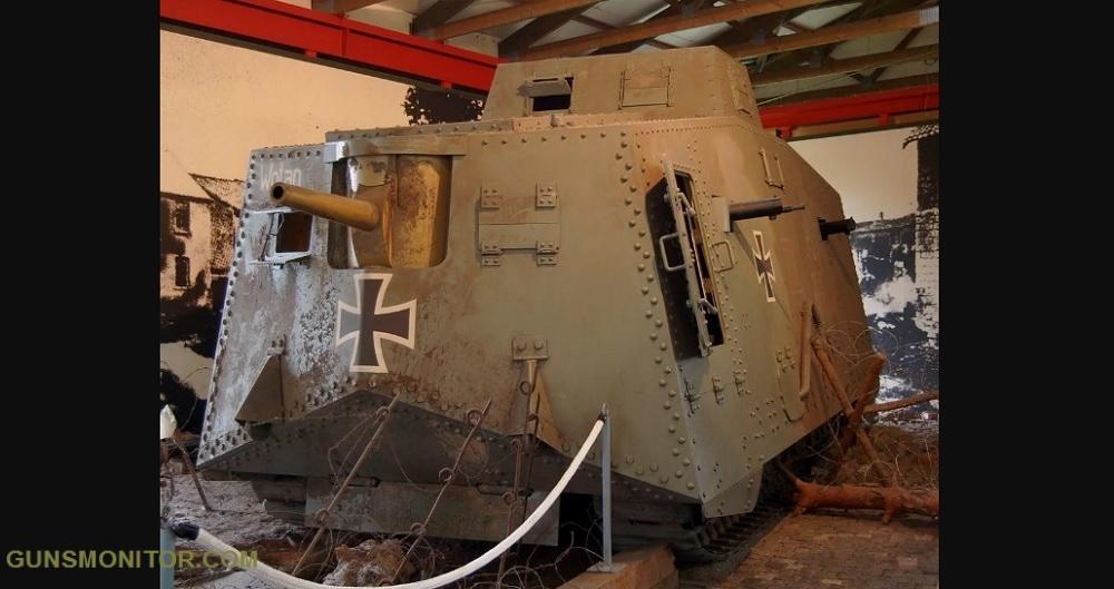 1609731835 971 الدبابة الألمانية الوحيدة في الحرب العالمية الأولى أكو وب
