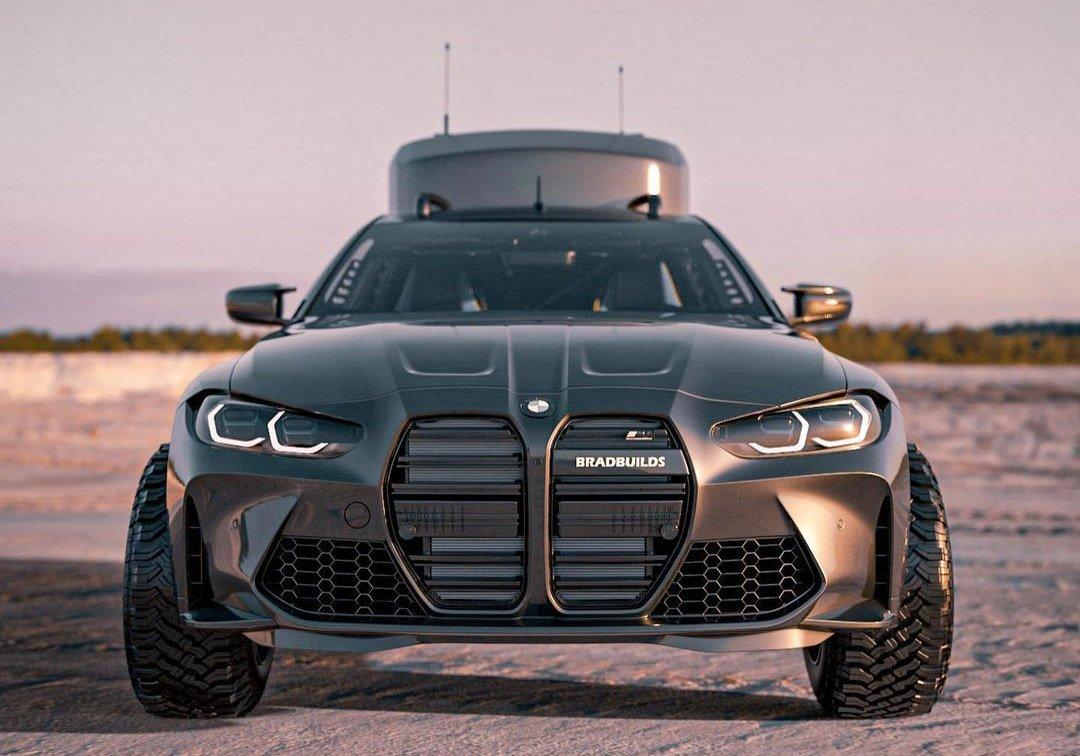 سيارة BMW M4 2021 للطرق الوعرة