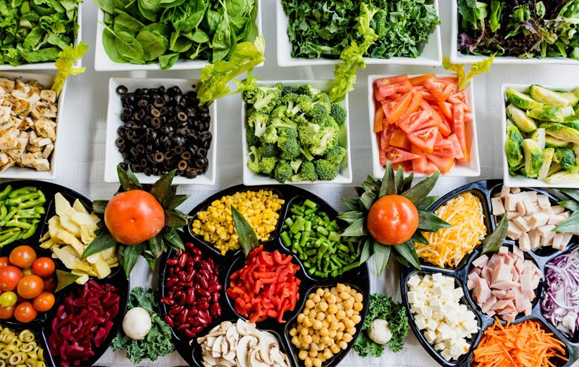 اتباع نظام غذائي سليم لكسل المبيض