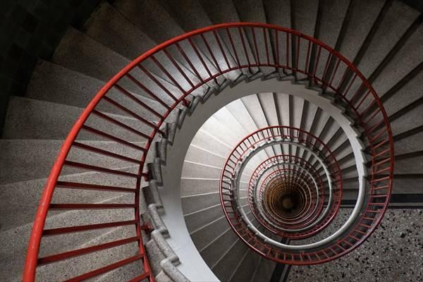 الخوف من السلالم