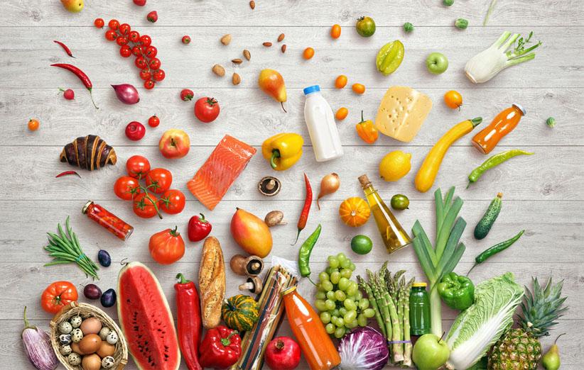 أغذية غنية بالفيتامينات والمعادن