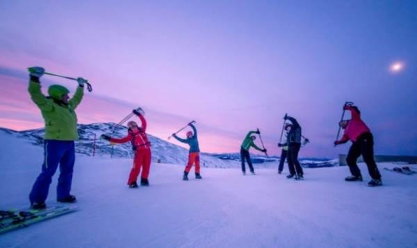 إصابة في التزلج