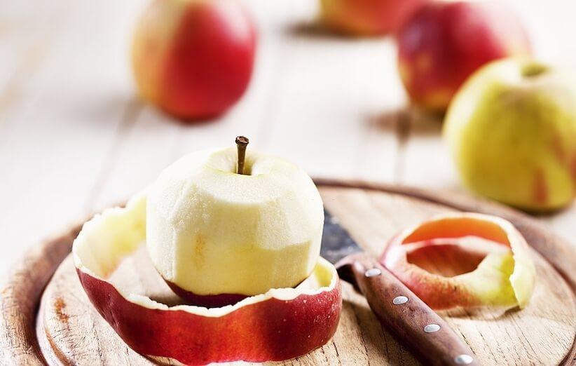 قشر التفاح - طرق الاستخدام