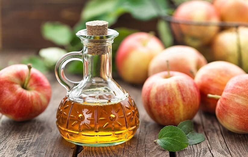 قشر التفاح - الخل