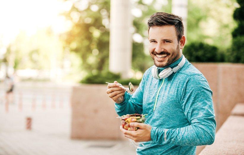 تغذية لبدء الجري