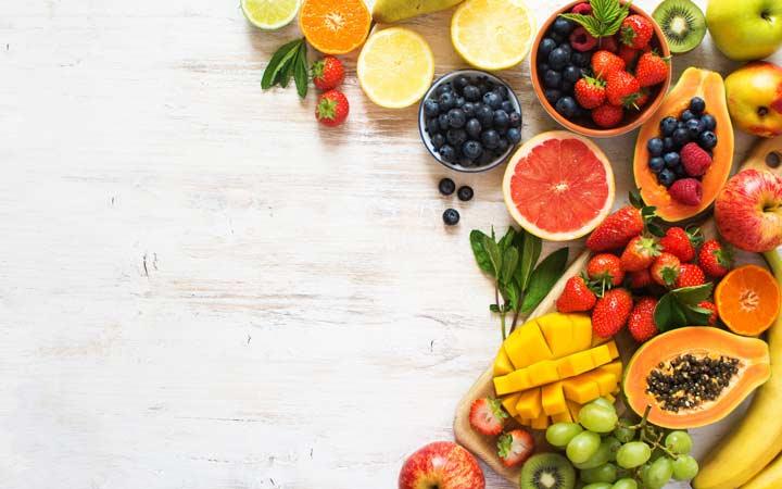 الفاكهة هي واحدة من الأطعمة النشيطة لمحاربة التعب والخمول اليومي