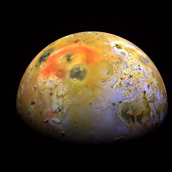 النظام البركاني في النظام الشمسي