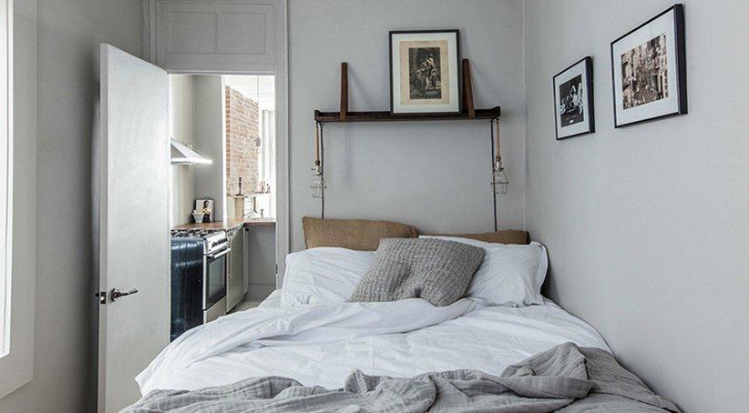 نموذج سرير جديد لغرفة النوم الصغيرة
