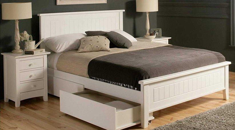 نموذج سرير بسيط جديد