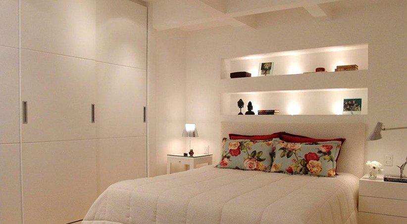 نموذج ديكور غرفة نوم صغيرة حديثة وبسيطة