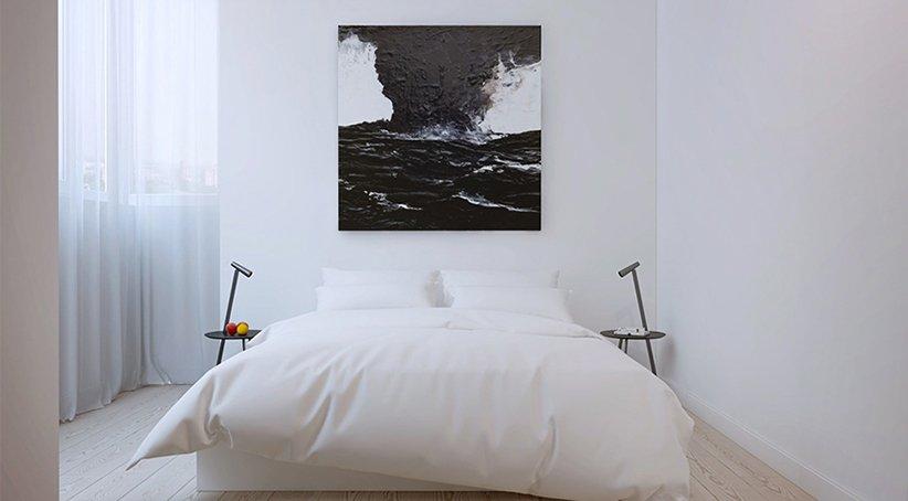نموذج تزيين غرفة نوم صغيرة
