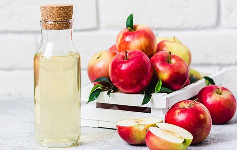 خل التفاح مناسب لتسكين احتقان الحلق