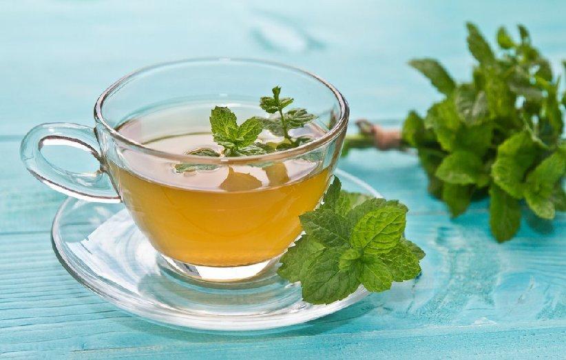 شاي النعناع للتغذية في فترة الحيض