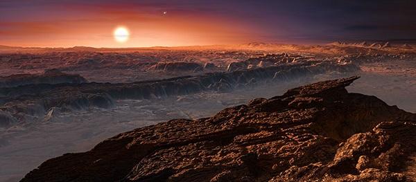 كوكب بروكسيما e والأرض ، مفارقة في أوجه التشابه والاختلاف