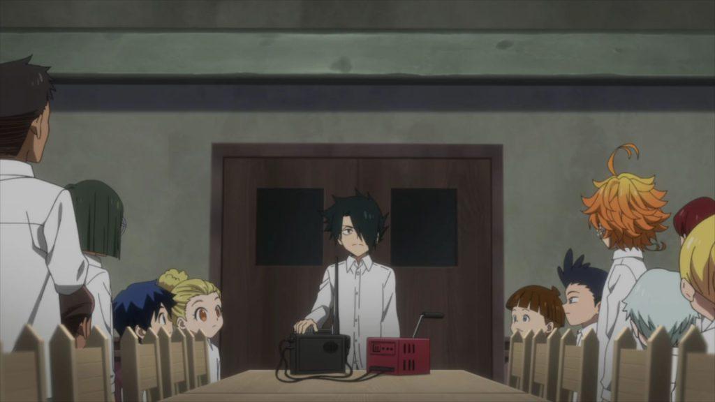 مقارنة الجزء الثالث من الموسم الثاني من أنيمي Yakusoku no Neverland الموعود بمانجا