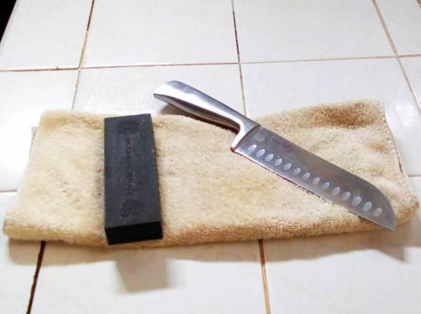 اشحذ السكين