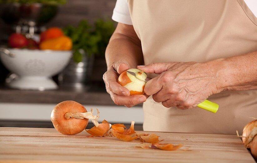البصل - قشر البصل