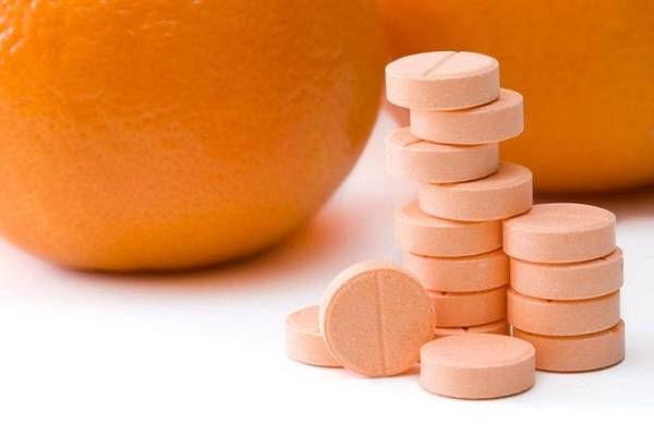 فيتامين سي.