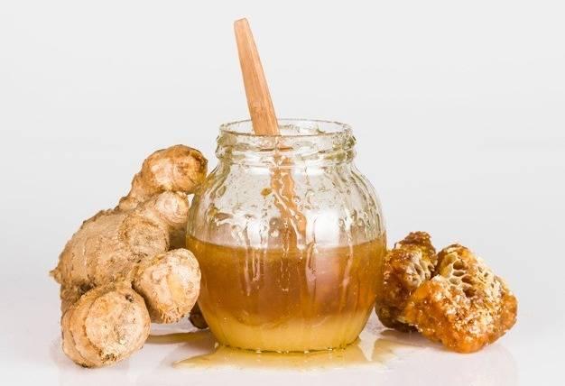 قناع العسل والزنجبيل