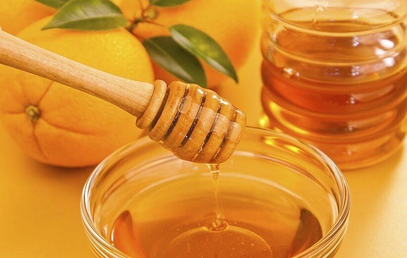 ماسك للوجه - عسل وبرتقال