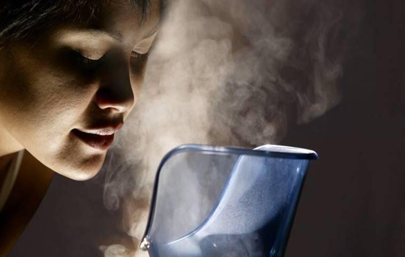 جرب العلاج بالبخار لتنظيف رئتيك