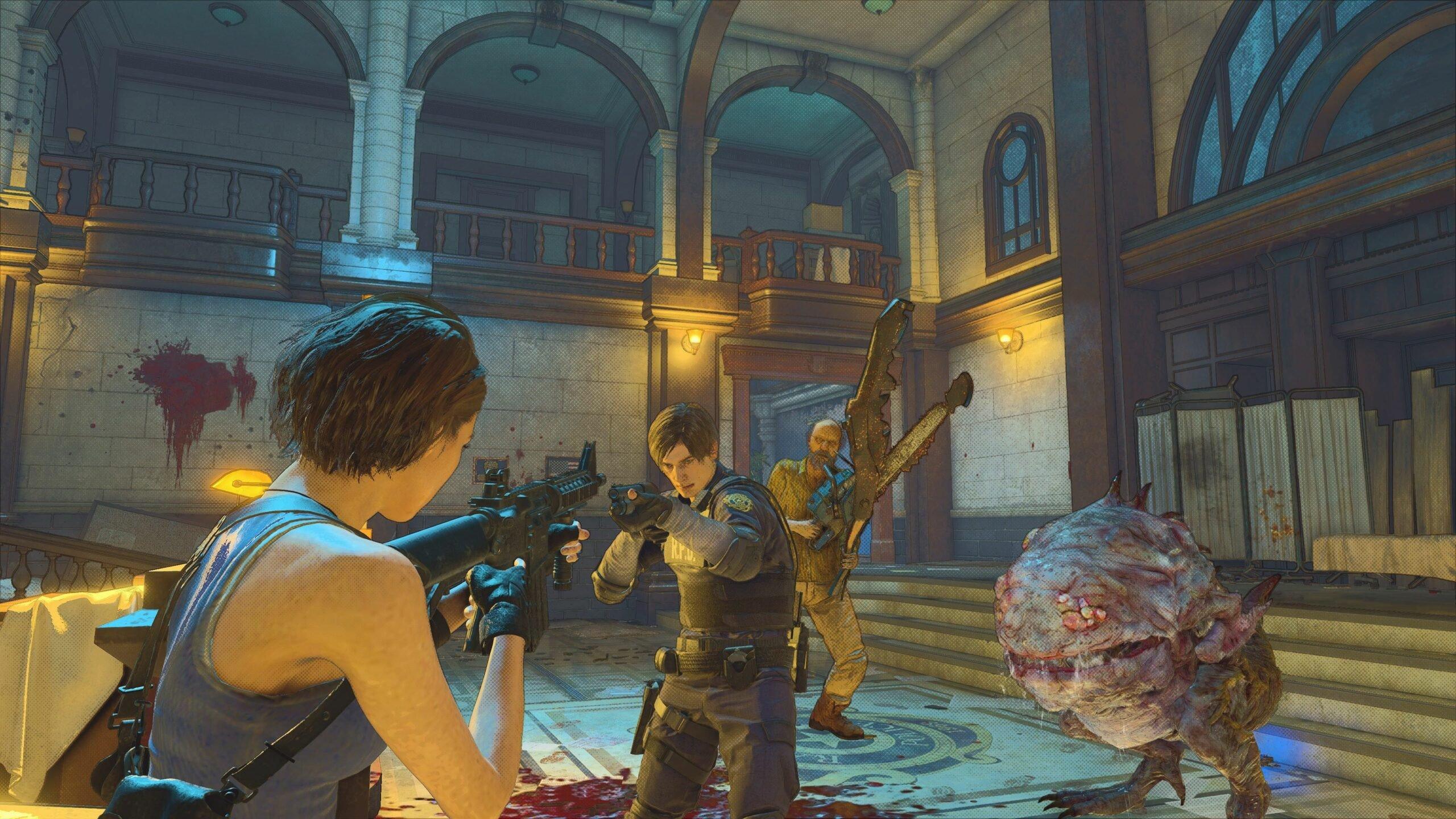 لعبة Resident Evil Re: Verse