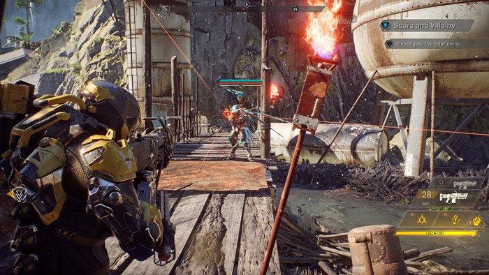 أوقفت Electronic Arts مشروع إحياء لعبة Anthem أكو وب