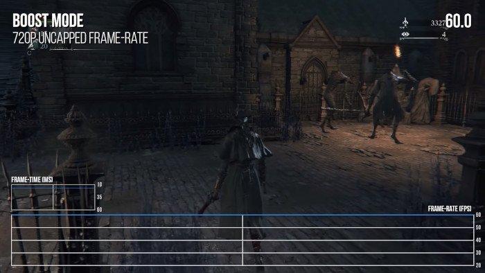 Bloodborne patch 60 لقطة في الثانية