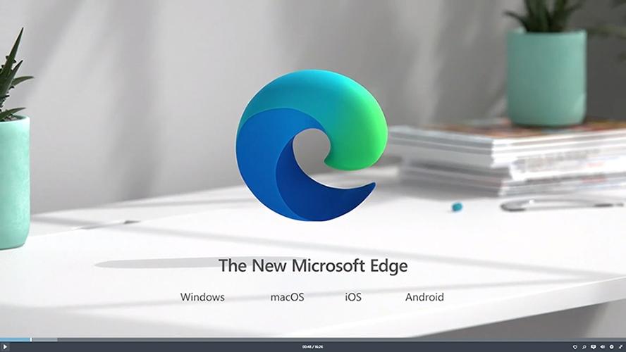 افتح متصفح Microsoft Edge على جهاز iPhone الخاص بك