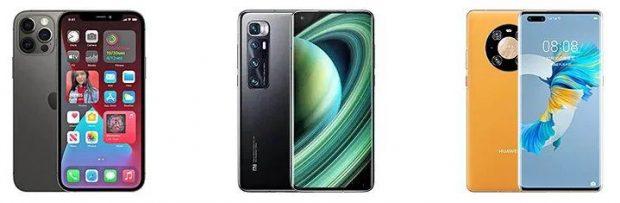 Xiaomi Mi 10 Ultra و Huawei Mate 40 Pro