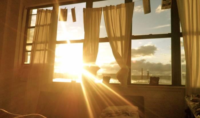 ضوء الشمس