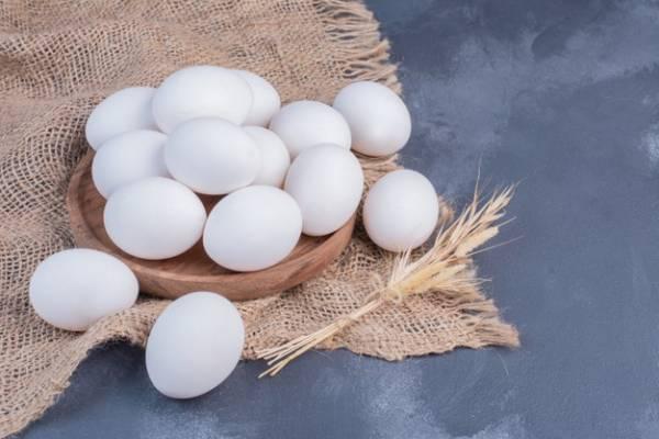 بيض و زيت سمسم