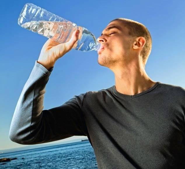 تأثير الماء على فقدان الوزن