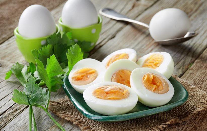 البيض في نظام غذائي لانقاص الوزن